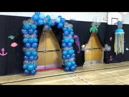 Under The Sea Decorations For Prom Bessborough Prom 2016 Decorations Under The Sea Youtube