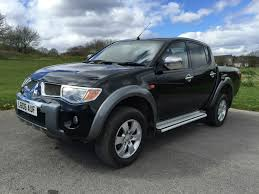 mitsubishi l200 2 5di d 4wd double cab pickup animal crown cars