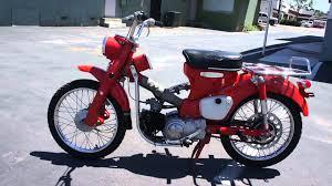 honda bikes 1964 honda 90 trail motorcycle classic dirt bike moped youtube