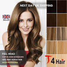 human hair extensions uk thick deluxe standard clip in remy 100 real human hair
