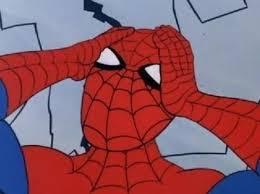 Spiderman Meme Generator - spiderman is confused blank template imgflip