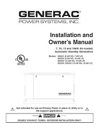rts automatic transfer switch technical manual generac pdf