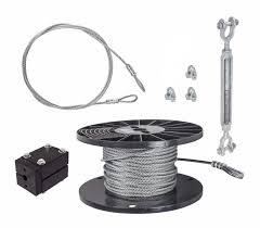 cable kit do it yourself u2013 ziplinegear