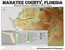 Florida Wetlands Map by Gis Journey March 2015
