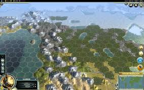 Giant Map Of The United States by Civilization 5 1080p The Earth Map Huge Style Youtube