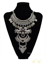 big statement necklace images Multi layer necklace gold crystal owl bird big statement necklaces jpg