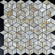 Kitchen Backsplash Tiles Diamond Mother Of Pearl Mosaic Tile ST - Seashell backsplash