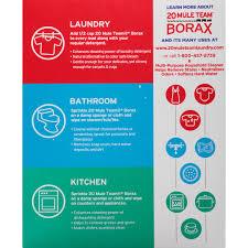 20 mule team borax detergent booster u0026 multi purpose household