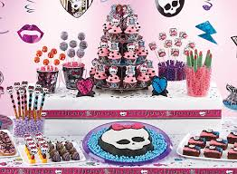 Party City Minnie Mouse Decorations Monster High Sweets U0026 Treats Monster High Party Ideas Girls