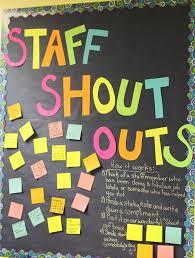 best 25 shout out board ideas on staff
