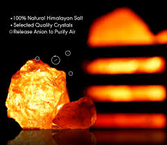 himalayan glow ionic crystal salt basket l dimmable himalayan crystal salt l with wooden basket ul listed