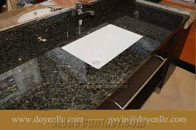 Granite Bathroom Countertops With Sink Brazil Verde Ubatuba Granite Bathroom Vanity Tops Wt Rectangular
