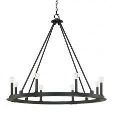 8 light chandelier