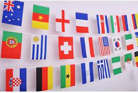 aliexpress buy 100 200 pcs countries string flag 25m