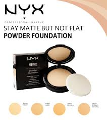 Bedak Nyx jual nyx stay matte but not flat powder foundation sheena store