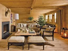 chalet style stylish new year decorations in chalet style