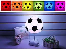 iq diy football light educational intelligent easy science working