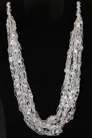 trellis ribbon yarn necklace patterns patterns kid