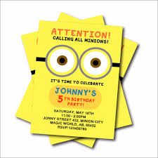 online buy wholesale minions birthday invitations from china