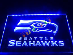 seahawks light up sign neon signs for home amazing home accessory neon light white light