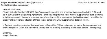 bargaining iii 2015 communique timeline usf graduate assistants united