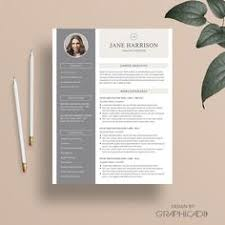 resume template and cover letter for word and pages two page
