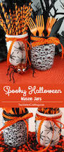 halloween party food ideas for children spooky halloween mason jars spooky halloween fun diy and diy