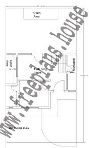 32 Square Meters To Feet 32x62 Feet 2nd Floor Plan Plans Pinterest Square Meter