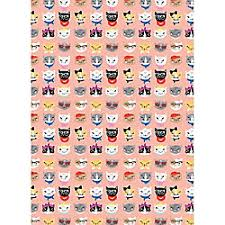 cat wrapping paper gift wrapping paper paper source
