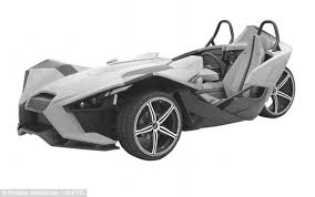 can you get a new car with no credit three wheeled polaris slingshot lets you surf along roads at