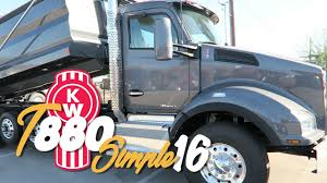 trade trucks kenworth 2017 kenworth t880 simple 16 dump truck inland kenworth of