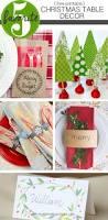 Christmas Table Decor by Free Printable Christmas Table Decor Friday Favorite 5 Moritz