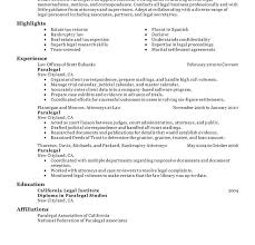 Personal Injury Paralegal Resume Paralegal Resume Paralegal Draft Resume Two Picture Gallery Of