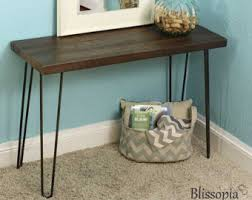 salvaged wood console table reclaimed wood and iron console table beautiful and elegant
