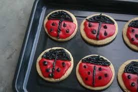 ladybug cookies ladybug cookies diabetic foodie