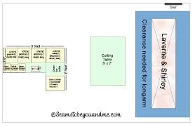 designing a sewing room in eq7 seams to be you and me