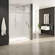 Fleurco Shower Door Fleurco Shower Door Horizon In Line With Fixed Panel