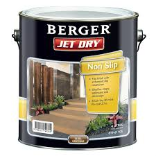 berger jet dry 4l non slip extra deep paving paint bunnings