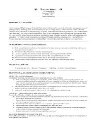 Resume Example For It Professional by Suzanne Webel Resume Lr