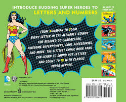 amazon com dc super heroes abc 123 9781935703655 david bar