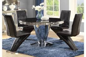stainless steel dining room tables barzini stainless steel dining room table set 105061 savvy