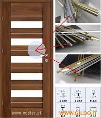 profili per porte profili per porte da interni antine decorazioni esclusive per il