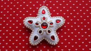 create a gorgeous felt christmas ornament diy home