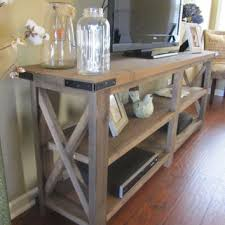 rustic x console table x console table choice image table design ideas