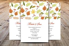 autumn thanksgiving invitation invitation templates creative