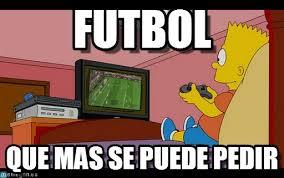 Futbol Memes - futbol bart simpson meme on memegen