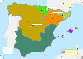 The Map Of Spain by File Historical Map Of Spain Ad 1100 1200 1142 Svg Wikimedia