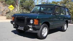 retro range rover 1995 range rover county lwb classic 2 owner 77k miles youtube