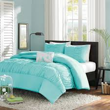 Blue And Coral Bedding Bedding Luxury Mint Bedding Twin Xl Blue Light Teal Ruched