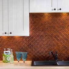 fasade kitchen backsplash fasade backsplash quilted in moonstone copper